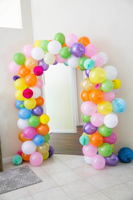 decoracion de la entrada fiesta munecas lol (3)
