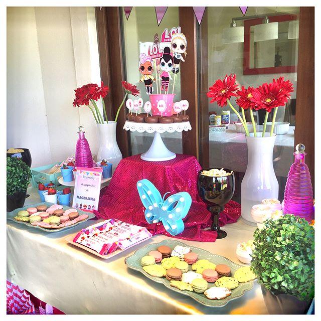 decoracion general para una fiesta de nina munecas lol (2)