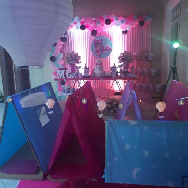 decoracion general para una fiesta de nina munecas lol (3)
