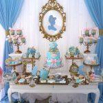 decoracion mesa principal fiesta de cenicienta