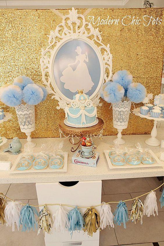 decoracion mesa principal fiesta de cenicienta (2)
