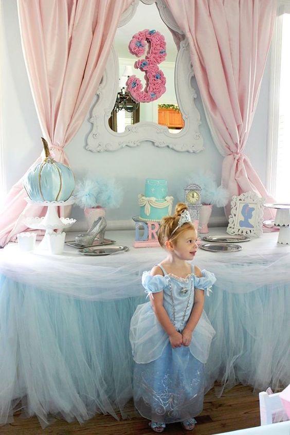 decoracion mesa principal fiesta de cenicienta (4)