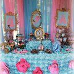 decoracion mesa principal fiesta de cenicienta (6)