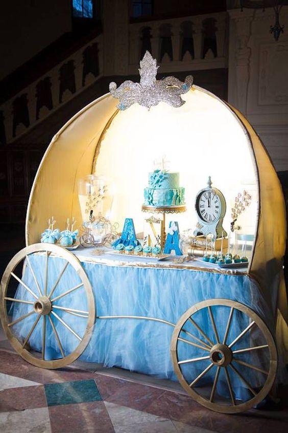 decoracion mesa principal fiesta de cenicienta (7)