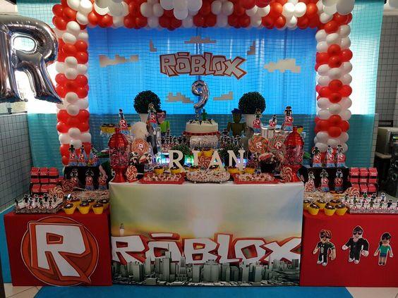 Fiesta De Roblox Para Ninos Ideas De Decoracion Para Fiestas