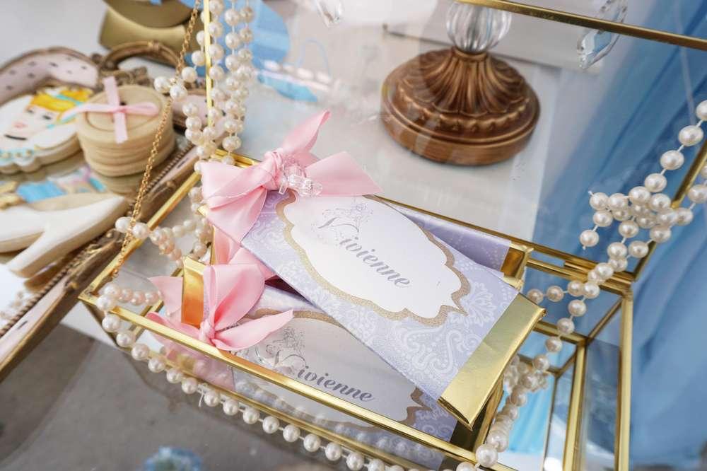 detalles para mesa de dulces tema cenicienta