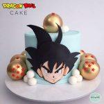 diseño de pastel de goku
