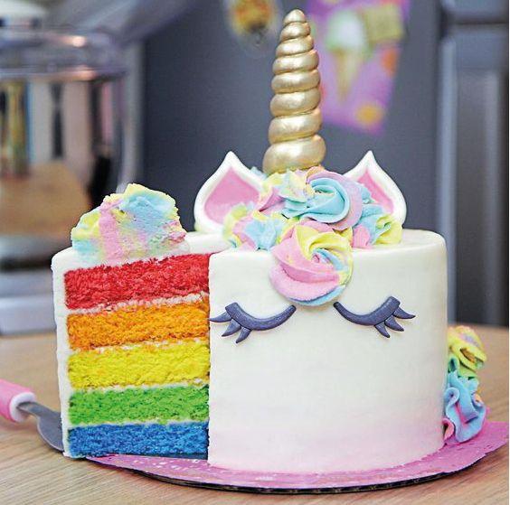 diseno de pasteles de unicornio (4)
