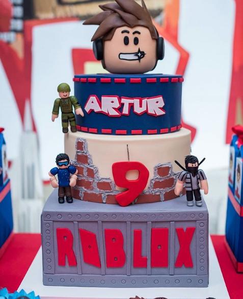 Diseños de pasteles de Roblox