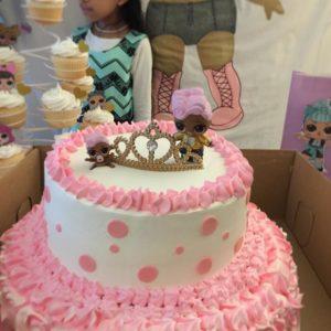 disenos de pasteles para nina tema munecas lo (3)