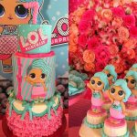 disenos de pasteles para nina tema munecas lo (4)