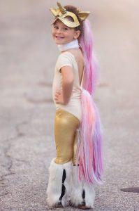 disfraz de unicornio para nina