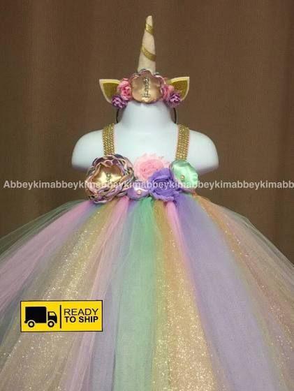 Disfraz De Unicornio Para Nina 6 Decoracion De Fiestas