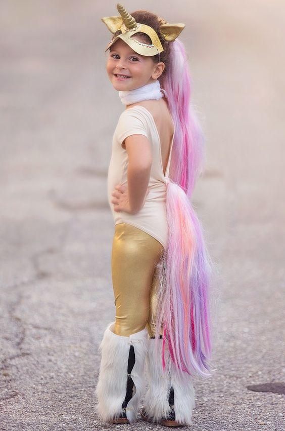 disfraz de unicornio para niña