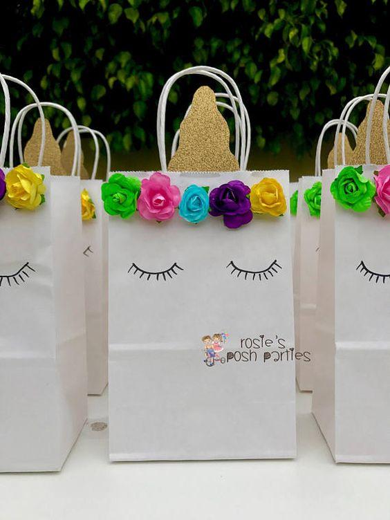 dulceros en bolsas de regalo de unicornio (3)