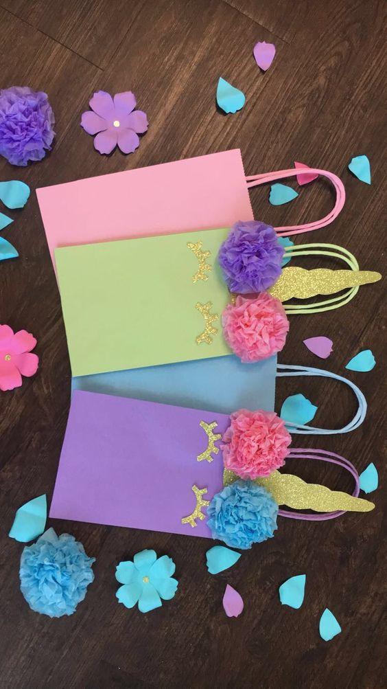 dulceros en bolsas de regalo de unicornio (5)