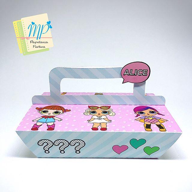 dulceros en cajas de carton para fiestas de nina tema munecas lol (4)