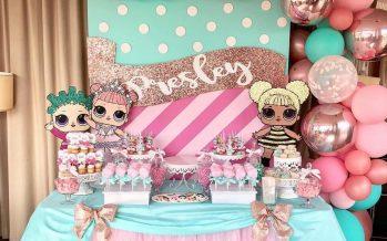 Fiesta de cumpleaños Muñecas LOL