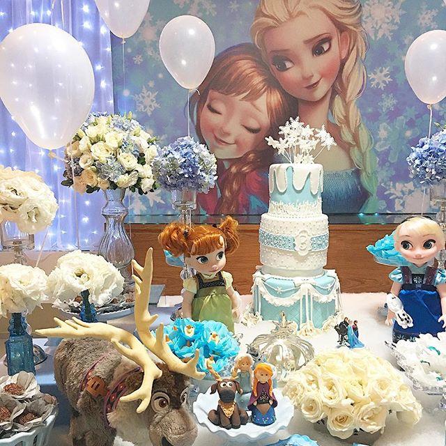 Copos De Nieve Para Decorar Fiesta Frozen.Fiesta Tematica De Frozen Con La Mejor Decoracion E Ideas