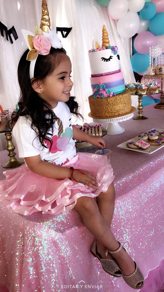 Fiestas Infantiles De Unicornio Para Nina Con Ideas Increibles
