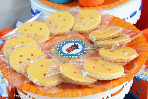galletas de las esferas del dragon