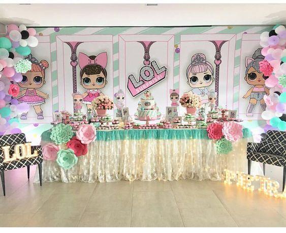 ideas para acomodar mesa de postres fiesta de nina (3)