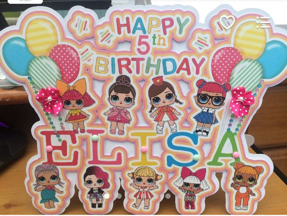 the best ideas for birthday party girl dolls theme lol (1)