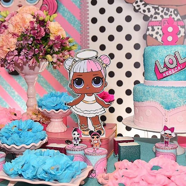the best ideas for birthday party girl dolls theme lol (10)