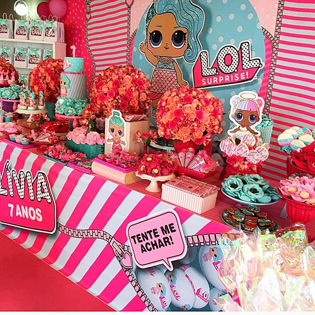 the best ideas for birthday party girl dolls theme lol (12)