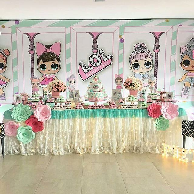 the best ideas for birthday party girl dolls theme lol (18)