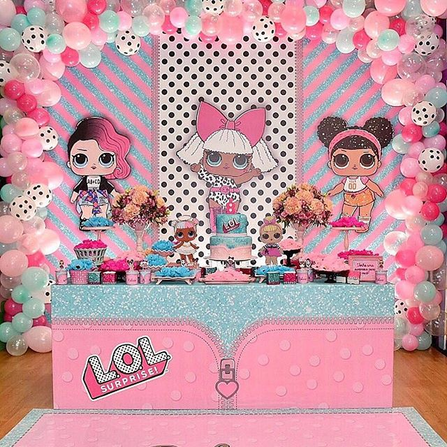 the best ideas for birthday party girl dolls theme lol (19)