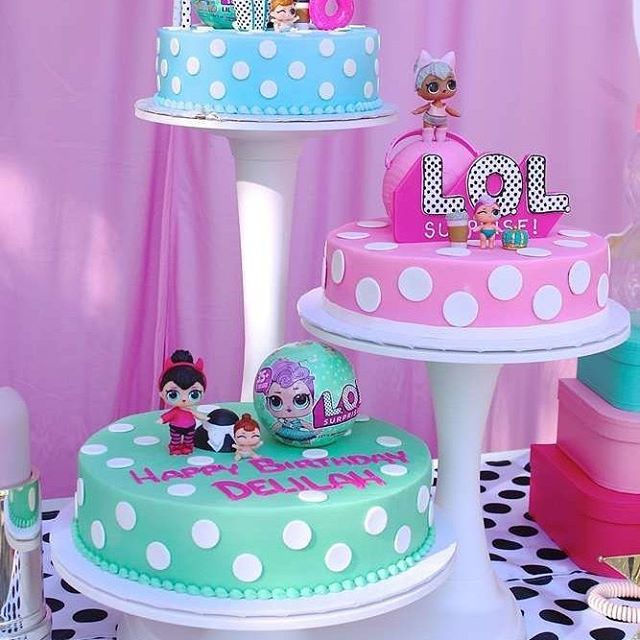 the best ideas for birthday party girl dolls theme lol (22)