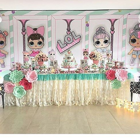 the best ideas for birthday party girl dolls theme lol (24)