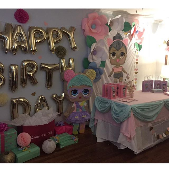 the best ideas for birthday party girl dolls theme lol (5)