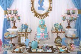 mesa de dulces para fiesta de cenicienta (3)