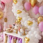 mesa de postres para fiesta de unicornio (7)