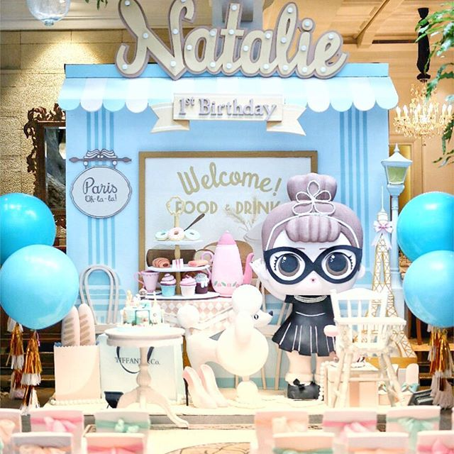 dessert table for party girl dolls theme lol (4)