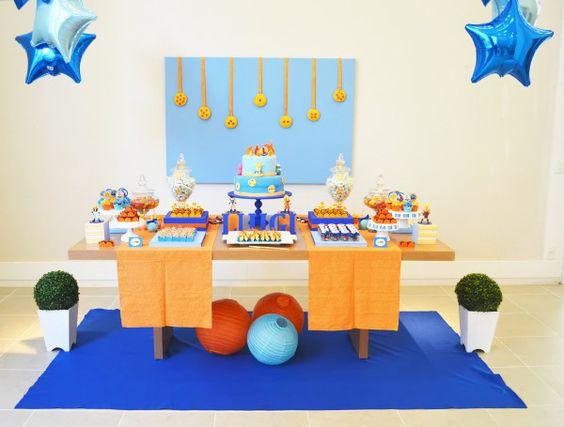 mesa principal de goku
