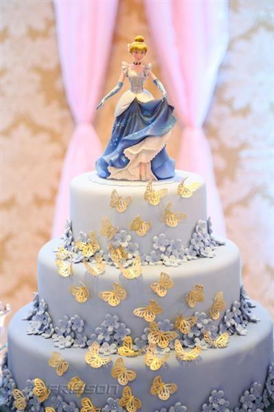 pastel de cumpleanos de cenicienta (3)