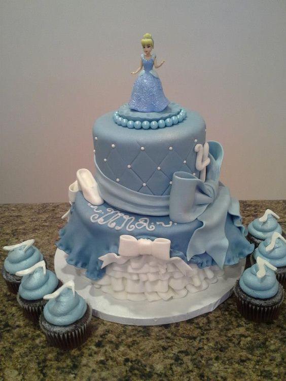 pastel de cumpleanos de cenicienta (4)