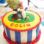 pastel del pajaro loco