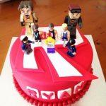 pastel para cumpleanos de roblox