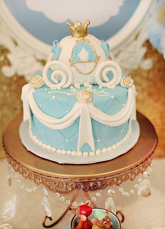 pastel pequeno de cenicienta (2)