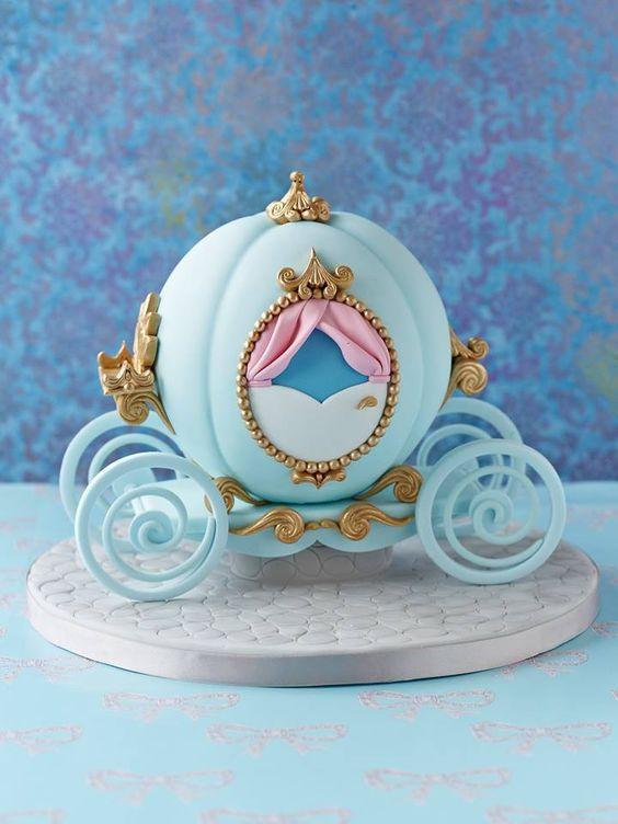 pastel pequeno de cenicienta (3)