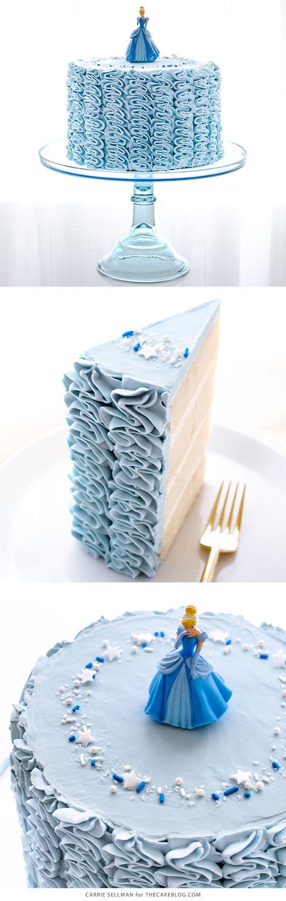 pastel sencillo de cenicienta