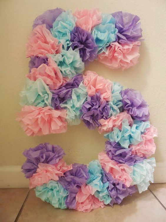 pinata for girl as number (3)