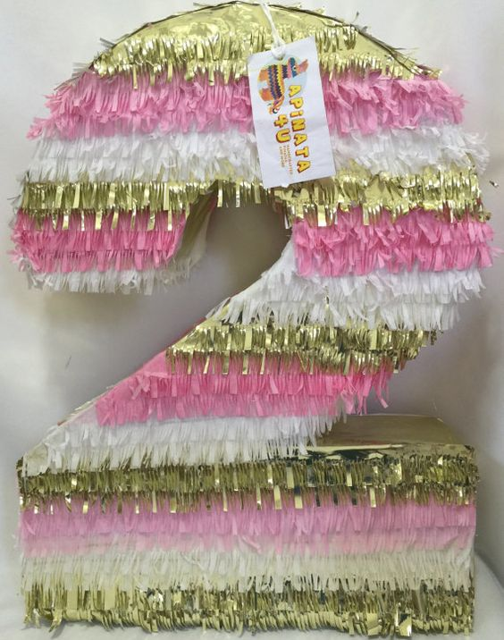 pinata for girl as number (6)