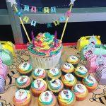 tarta de cumpleanos un piso tema muneca lol (5)