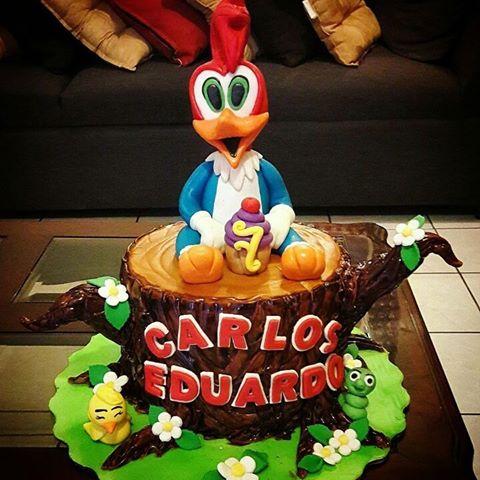 torta del parajaro loco para fiesta