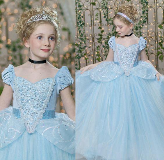 vestido de cenicienta para nina (2)